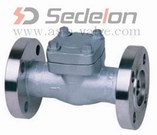 Flanged End forged steel check valve